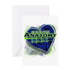 Grey's Anatomy TV Fan Greeting Card