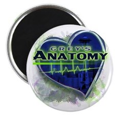 Grey's Anatomy TV Fan Magnet