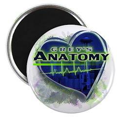 Grey's Anatomy TV Fan Magnet