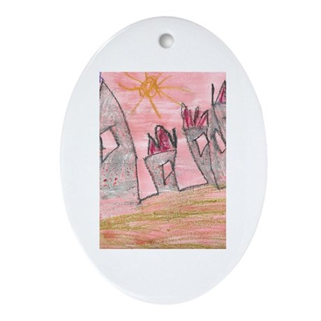 Kristopher Mayo Oval Ornament