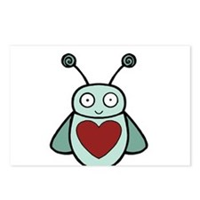 Cute Cute valentine Postcards (Package of 8)