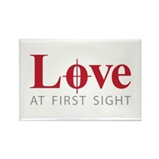 Love at first sight Rectangle Magnet (10 pack)