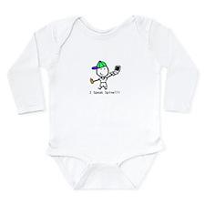 Geek - Spinelli Long Sleeve Infant Bodysuit