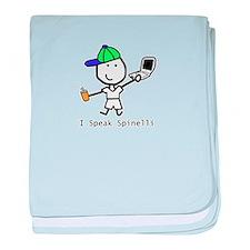 Geek - Spinelli baby blanket