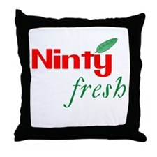 Ninty Fresh Throw Pillow