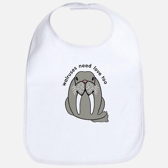 walruses need love too Bib