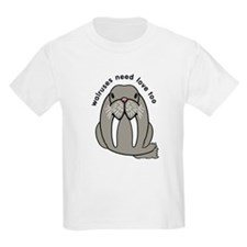 walruses need love too T-Shirt