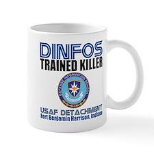 DINFOS Air Force Small Mug