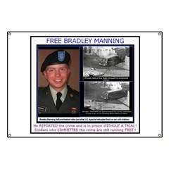 FREE Bradley Manning Banner