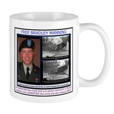 FREE Bradley Manning Mug