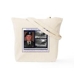 FREE Bradley Manning Tote Bag
