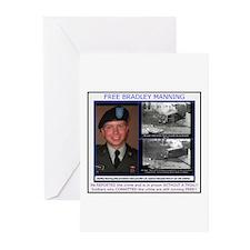 FREE Bradley Manning Greeting Cards (Pk of 20)