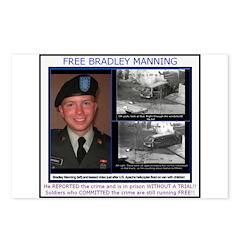 FREE Bradley Manning Postcards (Package of 8)