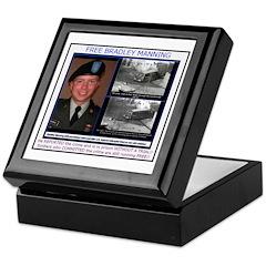 FREE Bradley Manning Keepsake Box