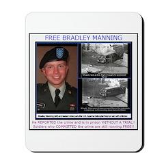 FREE Bradley Manning Mousepad