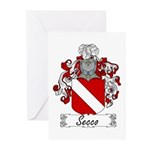 Secco Coat of Arms Greeting Cards (Pk of 10)