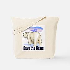 save bears Tote Bag