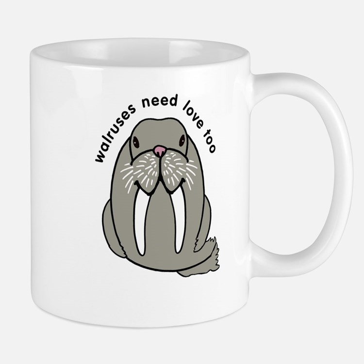 walruses need love too Mug