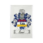 Scuri Coat of Arms Rectangle Magnet
