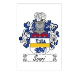 Scuri Coat of Arms Postcards (Package of 8)