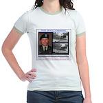 FREE Bradley Manning Jr. Ringer T-Shirt