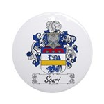 Scuri Coat of Arms Ornament (Round)