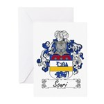 Scuri Coat of Arms Greeting Cards (Pk of 10)
