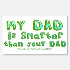 Smart Dad Decal