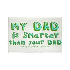Smart Dad Rectangle Magnet