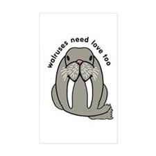 walruses need love too Decal