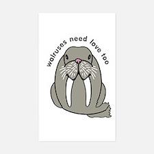 walruses need love too Decal