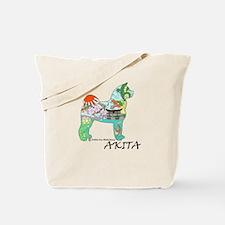 Akita National Treasure Tote Bag
