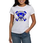 Ashby Family Crest Skull Women's T-Shirt