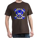 Ashby Family Crest Skull Dark T-Shirt