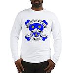 Ashby Family Crest Skull Long Sleeve T-Shirt