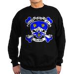 Ashby Family Crest Skull Sweatshirt (dark)