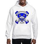 Ashby Family Crest Skull Hooded Sweatshirt