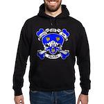 Ashby Family Crest Skull Hoodie (dark)