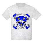 Ashby Family Crest Skull Kids Light T-Shirt