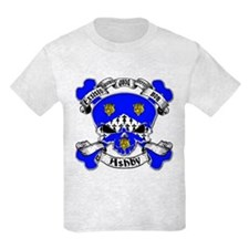 Ashby Family Crest Skull T-Shirt