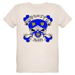 Ashby Family Crest Skull Organic Kids T-Shirt