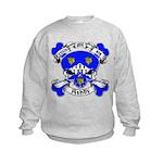 Ashby Family Crest Skull Kids Sweatshirt