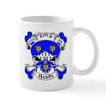 Ashby Family Crest Skull Mug