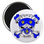 Ashby Family Crest Skull Magnet