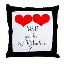 Cool St valentine's day Throw Pillow