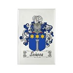Sciacca Family Crest Rectangle Magnet (100 pack)