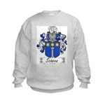 Sciacca Family Crest  Kids Sweatshirt