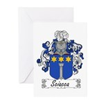 Sciacca Family Crest  Greeting Cards (Pk of 10