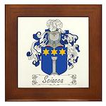 Sciacca Family Crest  Framed Tile