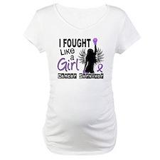 Fought Like A Girl Hodgkin's Lymphoma Shirt